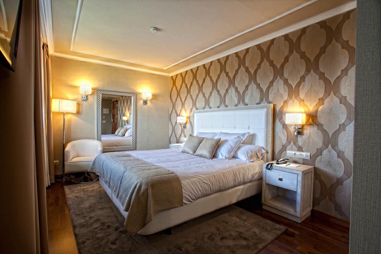 Hotel os olivos a coru a habitaciones de primera - Decoracion habitacion moderna ...